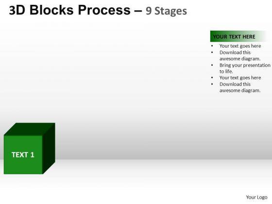 PowerPoint Process Editable Blocks Process Ppt Design