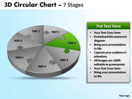 PowerPoint Process Editable Circular Ppt Process