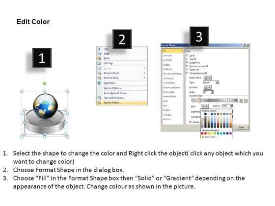 powerpoint_process_editable_pedestal_platform_showcase_ppt_design_slides_3