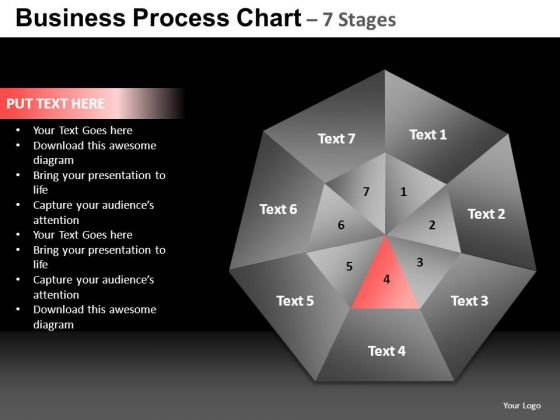 PowerPoint Process Editable Quadrant Chart Ppt Presentation