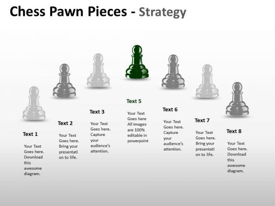 PowerPoint Process Education Chess Pawn Ppt Layouts
