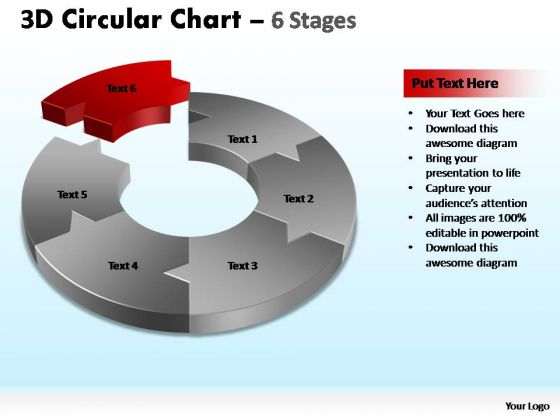 PowerPoint Process Education Circular Chart Ppt Presentation Designs