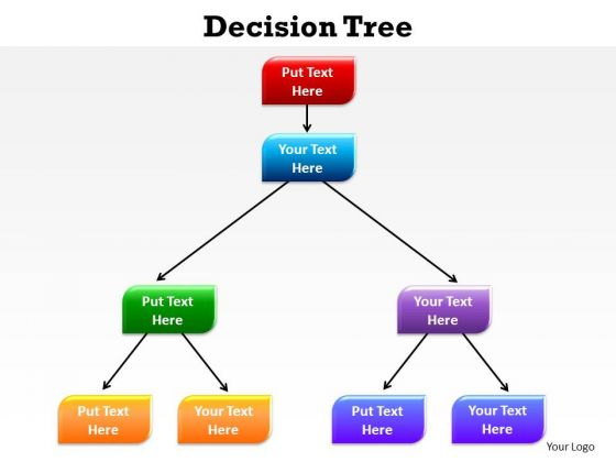 PowerPoint Process Education Decision Ppt Templates