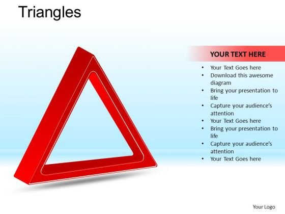 PowerPoint Process Executive Leadership Targets Triangles Ppt Design