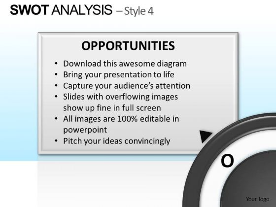 PowerPoint Process Executive Strategy Swot Analysis Ppt Themes