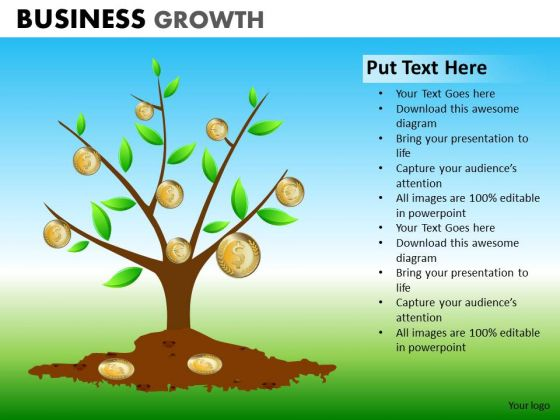 PowerPoint Process Executive Success Business Growth Ppt Slide
