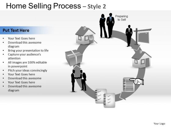 PowerPoint Process Global Home Selling Ppt Design