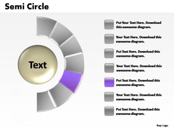 PowerPoint Process Global Semi Circle Ppt Design