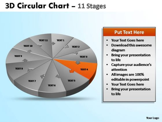 PowerPoint Process Graphic Circular Ppt Themes