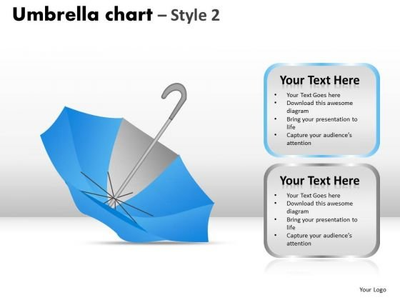 PowerPoint Process Graphic Umbrella Chart Ppt Backgrounds
