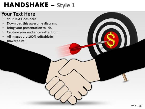 PowerPoint Process Growth Handshake Ppt Slidelayout