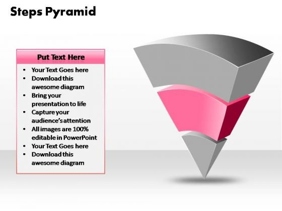 PowerPoint Process Image 3 Steps Pyramid Ppt Template