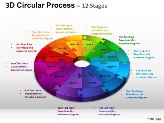 PowerPoint Process Image Circular Process Cycle Image Ppt Process