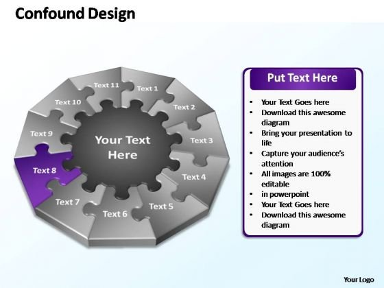 PowerPoint Process Leadership Confound Design Ppt Slides