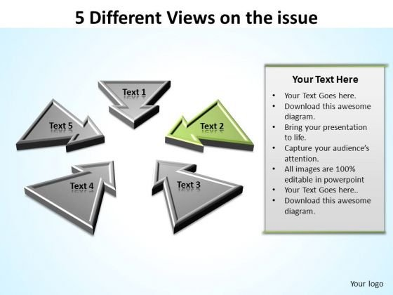 PowerPoint Process Leadership Different Views Ppt Template
