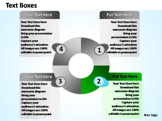 PowerPoint Process Leadership Four Process Ppt Slides