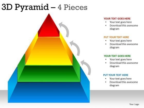 PowerPoint Process Leadership Pyramid Ppt Themes