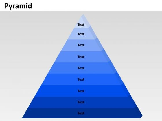 PowerPoint Process List Pyramid Business Ppt Themes