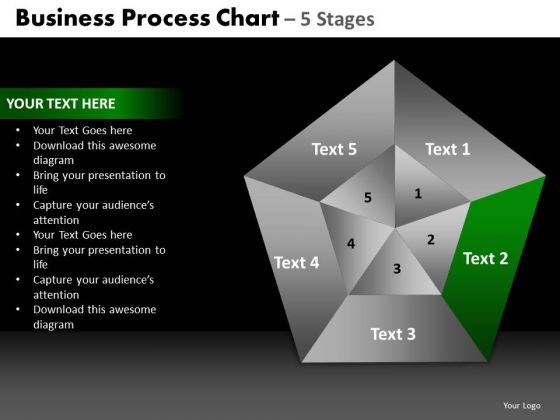 PowerPoint Process Marketing Quadrant Diagram Ppt Design