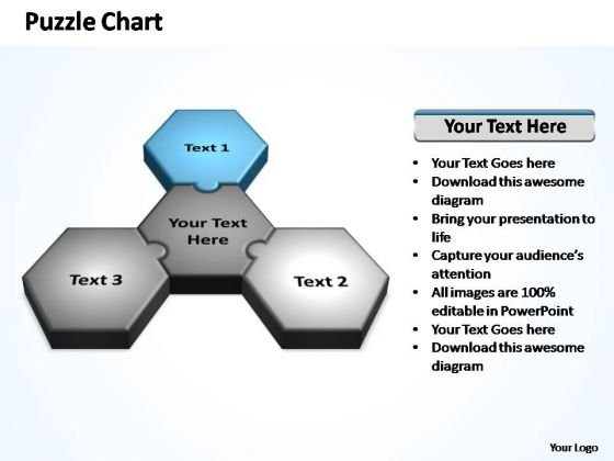 PowerPoint Process Process Business Strategy Puzzle Ppt Presentation