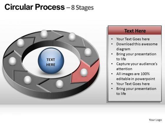 PowerPoint Process Process Circular Process Ppt Designs