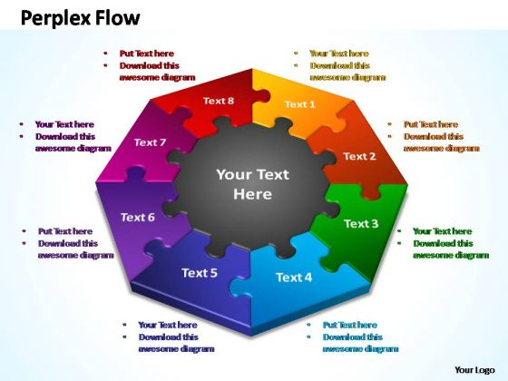 PowerPoint Process Process Perplex Flow Ppt Slide Designs