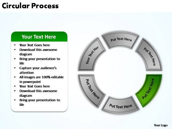 PowerPoint Process Sales Circular Process Ppt Slide Designs
