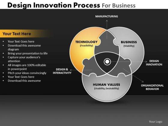 PowerPoint Process Sales Venn Diagram Ppt Layouts