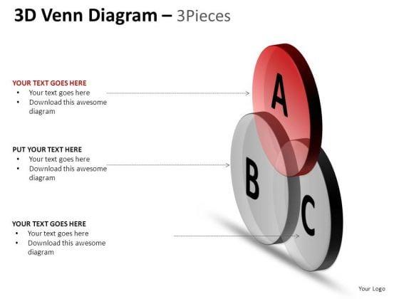 PowerPoint Process Sales Venn Diagram Ppt Process