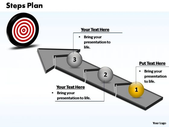 PowerPoint Process Steps Plan Ppt Themes