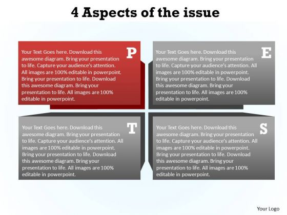 PowerPoint Process Strategy Aspects Ppt Themes