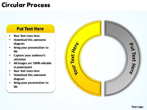PowerPoint Process Strategy Circular Process Ppt Presentation