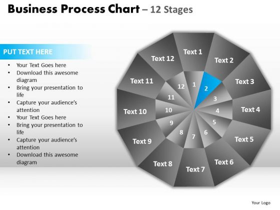 PowerPoint Process Strategy Circular Quadrant Ppt Designs