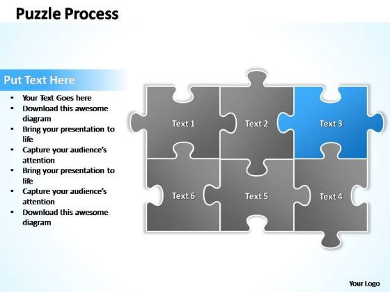 PowerPoint Process Strategy Puzzle Ppt Process