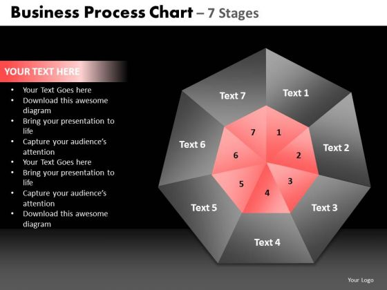 PowerPoint Process Strategy Quadrant Diagram Ppt Slide Designs