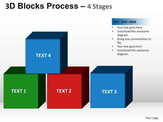 PowerPoint Process Success Blocks Process Ppt Slide Designs