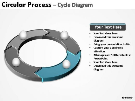 PowerPoint Process Success Circular Process Ppt Design Slides