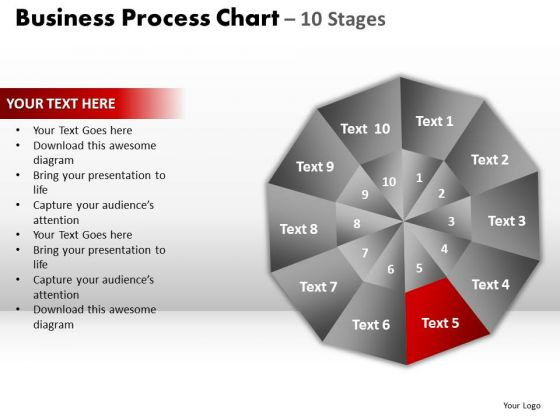 PowerPoint Process Success Circular Quadrant Ppt Slide