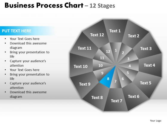 PowerPoint Process Success Circular Quadrant Ppt Theme