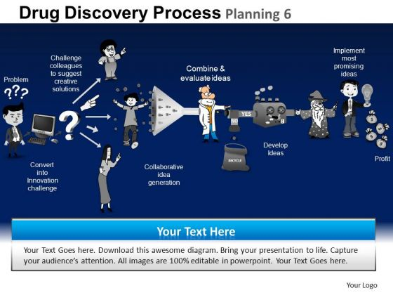 PowerPoint Process Success Drug Discovery Ppt Presentation