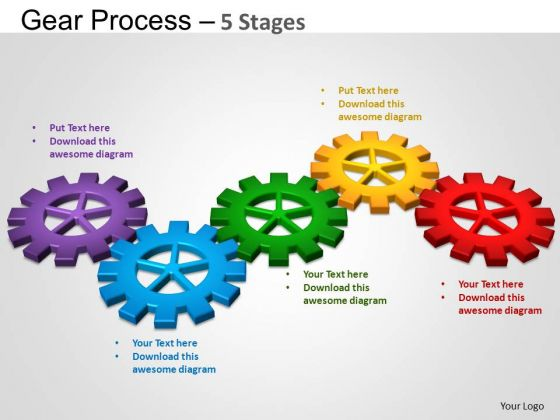 PowerPoint Process Success Gears Process Ppt Backgrounds
