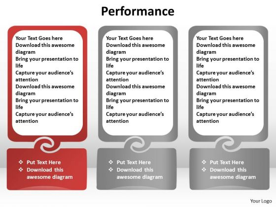 PowerPoint Process Success Performance Ppt Design Slides