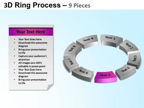 PowerPoint Process Success Ring Process Ppt Template