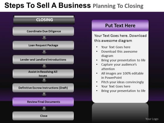 PowerPoint Process Teamwork Business Planning Ppt Theme