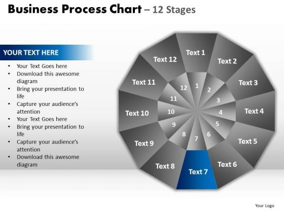 PowerPoint Process Teamwork Circular Quadrant Ppt Presentation