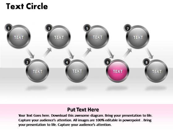 PowerPoint Process Teamwork Text Ppt Template