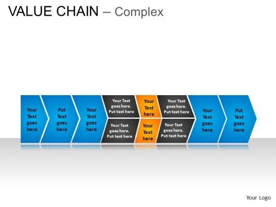 PowerPoint Process Teamwork Value Chain Ppt Theme