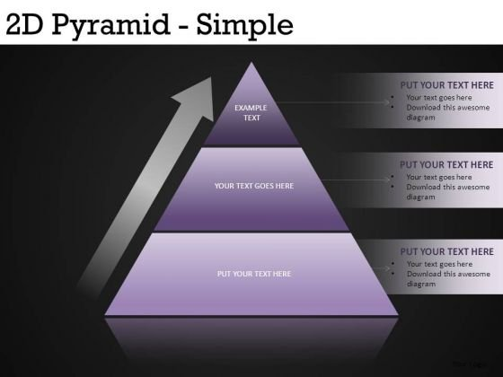 PowerPoint Pyramids Graphics Slides