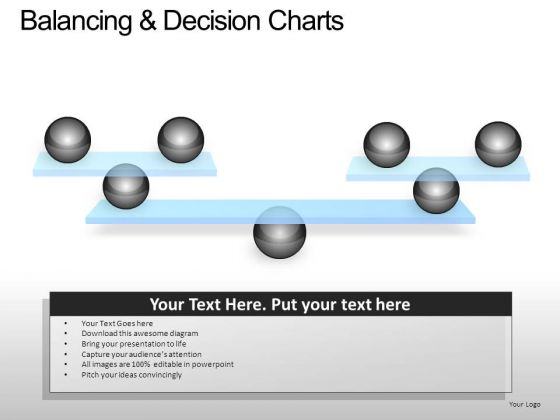 PowerPoint Slide Business Balancing Decision Ppt Layout