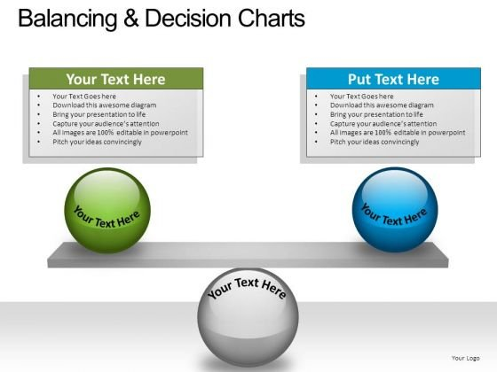 PowerPoint Slide Business Balancing Decision Ppt Slide